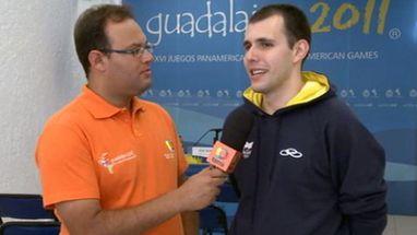 Brasileiro estreia em Pan-americanos e sai com medalha ao ser derrotado pelo guatemalteca Kevin Cordon