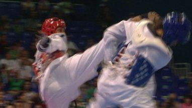 Glenhis Hernandez arrasa Grabrielle Martinez de Porto Rico e fica com o ouro na categoria com mais de 67 kg