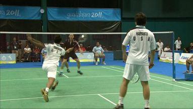 Howard Bach e Tony Gunawan ganharam ouro, vencendo os também americanos Ho/Pongnaiat e Muñoz/Lopez (MEX)