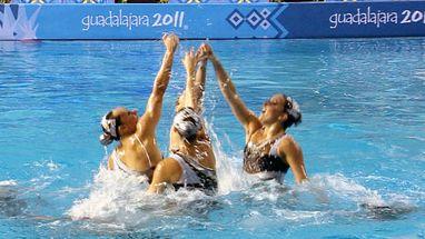 Resultado dos duetos é mantido nas equipes.; Canadá leva ouro, EUA prata e Brasil é terceiro