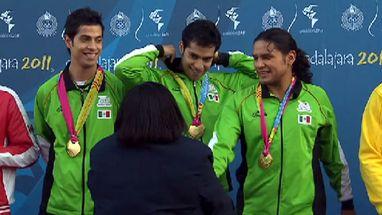 Equipe mexicana ganhou o ouro; Canadá ficou com a prata e Brasil e EUA levaram o bronze