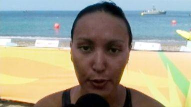 Após conquistar a segunda colocação da maratona aquática, brasileira quer subir no pódio olímpico em 2012
