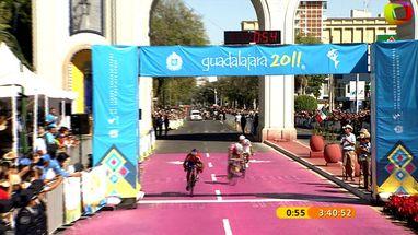 Ciclista das Antilhas Holandesas, Rafael Andriato  surpreende e vence maratona de quase 4 horas nos 160 Km disputados