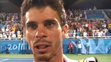 """Depois de ficar com a prata no tênis, Rogerinho diz que """"catimba"""" de adversário não foi o principal fator da derrota"""
