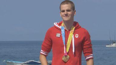Richard Weinberger (CAN) conquistou o ouro, Arthur Frayler (EUA) a prata e Guillermo Bertola (ARG) o bronze
