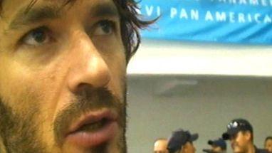 Depois da eliminação do Brasil do Pan, capitão Léo decidiu abrir espaço na Seleção para a nova geração