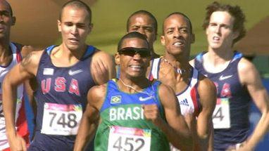 Brasileiro ficou atrás do cubano Andy Gonzalez, medalha de ouro; o também brasileiro Lutimar Paes foi o sexto