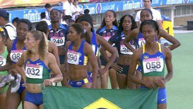 Brasileiras lideram início da prova, mas são superadas por cubanas que garantem mais um ouro
