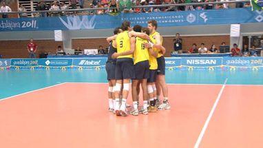 Seleção perdeu primeiro set, mas conseguiu buscar resultado e agora decide ouro no vôlei masculino