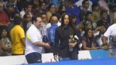 Treinadora brasileira ficou irritada com a derrota de Rafaela Silva para a cubana Lupetey na decisão até 57kg