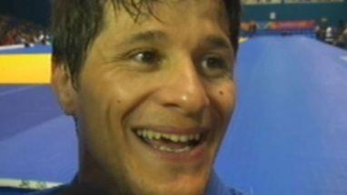 Leandro Cunha explica apelido pelo qual é conhecido no judô; atleta foi campeão da categoria até 66kg no pan