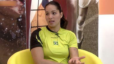 Monik Carla revela estratégia adotada pela Seleção feminina de Handebol para conquistar bons resultados