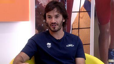Leonardo Bortolini afirma que vive do esporte, mas que fez questão de terminar a faculdade