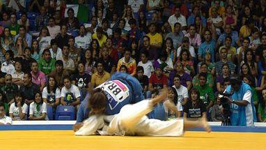 Brasileira levou a melhor sobre a colombiana Luz Alvarez na categoria até 48kg