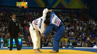 Felipe Kitadai derrota o mexicano Nabor Castillo e conquista o sexto ouro do judô masculino brasileiro
