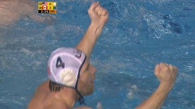 Americanos vencem canadenses no Pólo Aquático e conquistam mais uma medalha de ouro