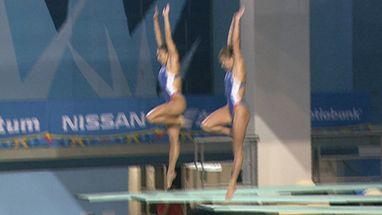 Dupla Paola Espinosa e Laura Sanchez conquistam o ouro e mantém supremacia mexicana nos Saltos Ornamentais