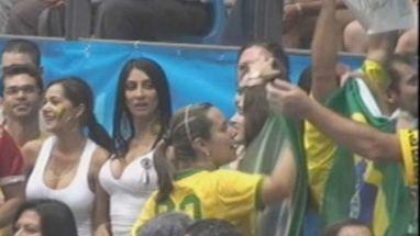 Fãs da Seleção brasileira de vôlei deram show de animação nas arquibancadas