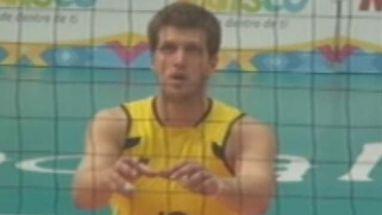 Jogador da Seleção Brasileira de vôlei mostrou muita vibração na final do torneio