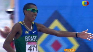 Solonei Silva, medalha de ouro no Pan, se emocinou ao telefone