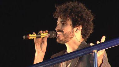 Gabriel Póvoas interpretou música de Djavan; cantora homenageou Jorge Amado no circuito Barra-Ondina
