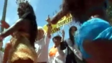 Evento marca abertura do Carnaval na cidade; passistas foram destaques