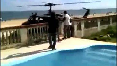Vídeo publicado no Youtube mostra lugar onde traficante Mica, preso em Maricá, no Rio, estava com os amigos na segunda de Carnaval