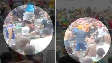 Vídeo publicado no YouTube mostra confusão durante passagem do Galo da Madrugada, o maior bloco do Recife